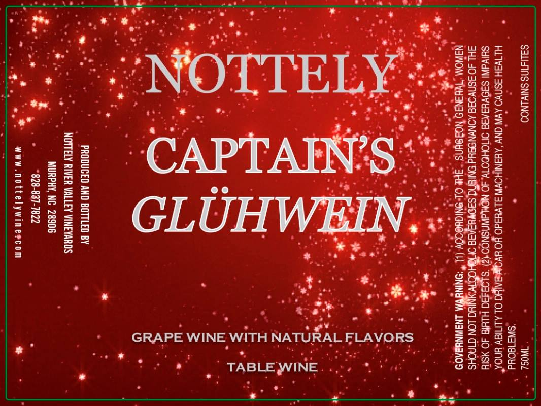 Nottely River Valley Vineyards Captain's Gluhwein